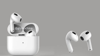 Leaked AirPods 3 renders and photos show off new design, lack of silicone tips