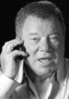 William Shatner is not afraid to show off his Palm Pre