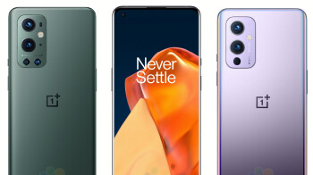 Leaked OnePlus 9/Pro 5G renders show off new design and fancy colors