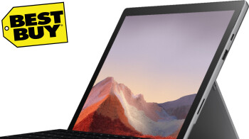 Microsoft's Surface Pro 7 is now $400 off at BestBuy and includes a keyboard cover