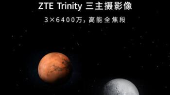 ZTE's next Axon series phone has three 64-megapixel cameras