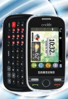 Cricket also launches the Samsung Messager Touch - for $159 though