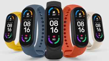 Xiaomi Mi Band 6 is here with a 'full-screen' display and SpO2 blood oxygen-level monitoring