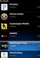 BlackBerry App World hits the 10,000 mark