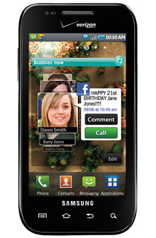 Samsung Fascinate now for sale from Verizon