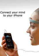 XWave head gear uses the NeuroSky technology to mind control stuff on your iPhone