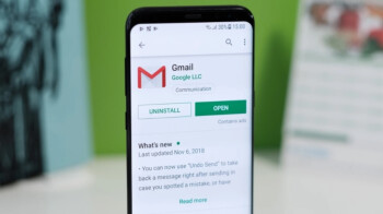 Updated Gmail for Android now includes animated swipe action