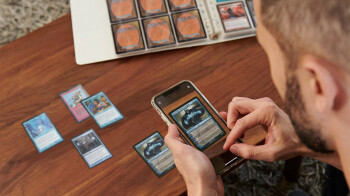 The eBay mobile app now lets sellers scan their trading cards