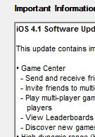 Apple begins to roll out iOS 4.1