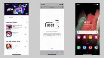 Samsung's iTest app turns your iPhone into a Galaxy with Android teaser
