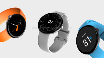 This is the Google Pixel Watch