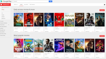 Google removes Play Movies & TV app from select platforms