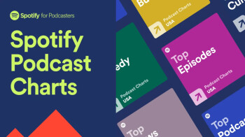 Spotify introduces a new Podcast Charts experience