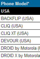 Motorola CLIQ, CLIQ XT and BACKFLIP now set for Android 2.1 upgrade in early Q4