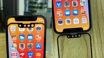 Photographic evidence allegedly shows smaller notch for this year's 5G iPhone series