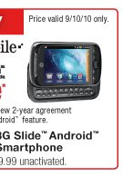 RadioShack is giving away the T-Mobile myTouch 3G Slide for free today only