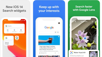 Update to iOS Google app makes it more like a browser than before