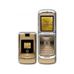 Dolce & Gabbana and Motorola's new V3i Gold