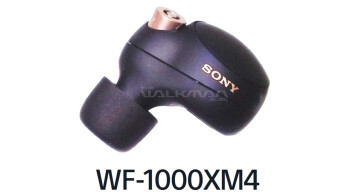 Sony's upcoming top-tier earbuds leaked in live photos