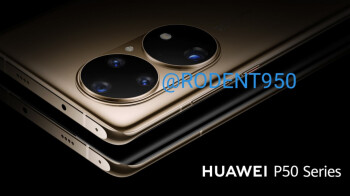 Check out these Huawei P50 series renders
