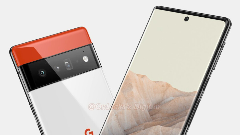 Take a look at the Google Pixel 6 and Pixel 6 Pro