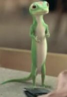 GEICO's Gecko sports a BlacBerry Curve in their latest advertisement