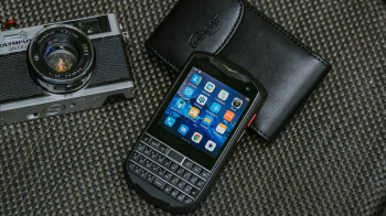 The newest BlackBerry clone is an affordable pocket-sized Titan with a clicky QWERTY keyboard