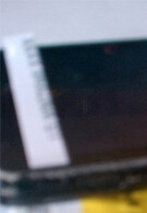 Extremely blurry shot supposed to show an LG WP7 handset coming to Sprint