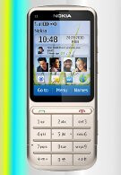 Nokia announces the Series 40-based C3-01 Touch and Type candybar phone