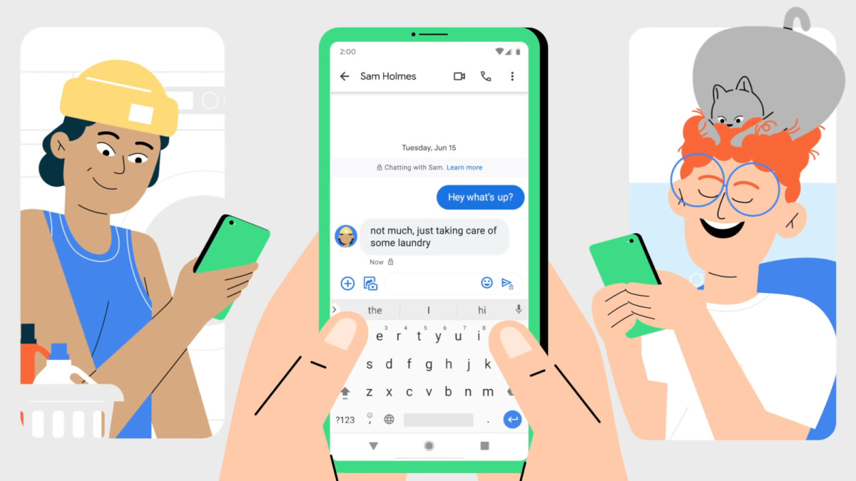 Google rolls out Messages end-to-end encryption to everyone