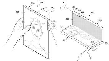 Samsung has patented a one of a kind foldable phone with a rotating camera