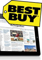 Apple iPad has eaten up 50% of the laptop PC sales at Best Buy
