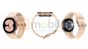 Major Galaxy Watch 4 renders leak shows off new design in all colors