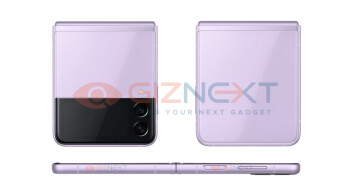 Foldable Galaxy Z Flip 3 pictured from every angle in more gorgeous colors