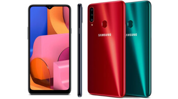 Android 11-based One UI 3.1 rolling out to the Samsung Galaxy A20s