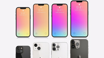 An iPhone 13 notch size leak tips Apple's best screen-to-body ratio so far