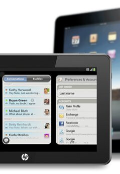 A tablet from Palm could be similar to Apple iPad