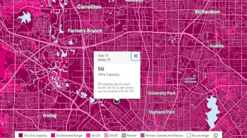 Revised map allows T-Mobile subscribers to find its fast Ultra-Capacity mid-band 5G service