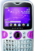 Yahoo phone created by Alcatel for Tata DOCOMO