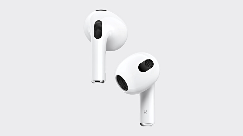 AirPods 3 are official: head-tracking Spatial Audio, lower starting price