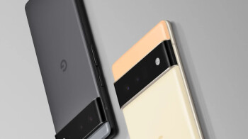The Pixel 6 Pro's front pops up on the Google Store landing page