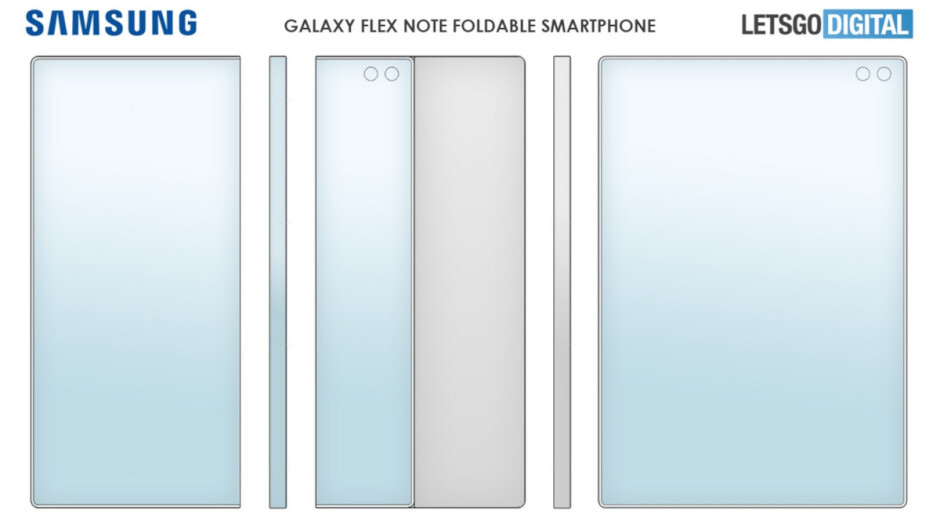 Patent reveals foldable Galaxy Note with S Pen