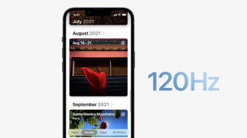 Apple says 120Hz refresh rate works on third-party apps
