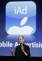 Apple's iAd advertising service to tie up with Google for a fifth of the market
