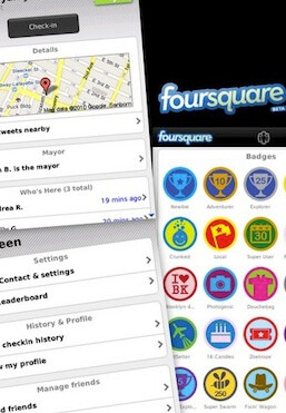 New version 1.9.5 of foursquare for BlackBerry brings new features including
