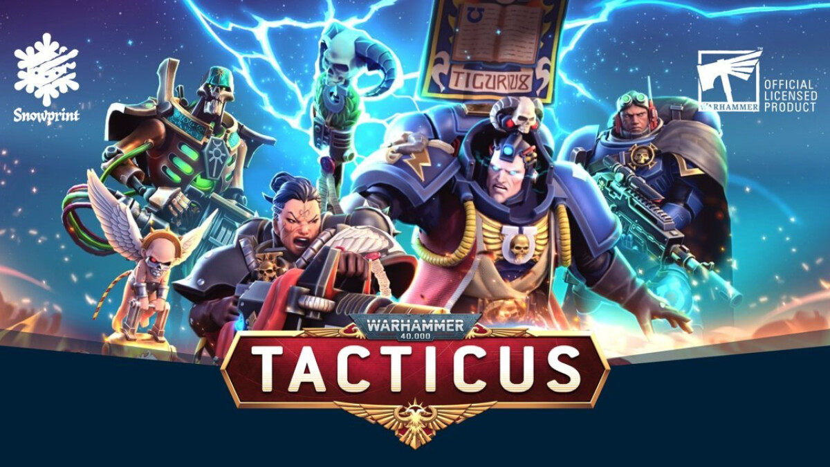 Warhammer 40,000: Tacticus arrives on Android and iOS in 2022
