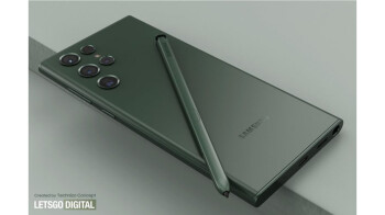 Samsung Galaxy S22 Ultra may come in green
