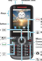 Android powered Motorola i886 features a landscape QWERTY & traditional keypad