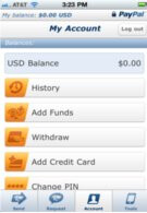 PayPal app for the iPhone will allow you to scan checks with your handset