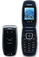 Samsung SPH-A640 - simple clamshell with style